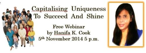 Free Webinar: Capitalise Uniqueness To Succeed And Shine