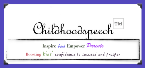 Lets Celebrate, Childhoodspeech Logo