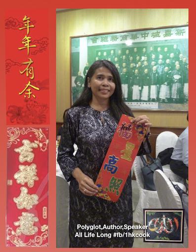 2017年1月28日农历新年祝福 Chinese Lunar New Year Greetings